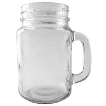 Harga 400ml Handle Glass Jar (David)