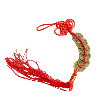 Harga Jetting Buy Feng Shui Fortune Coin Hanging Cure - Red