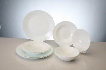 Harga Giacomo 12pc opal glass dinner set