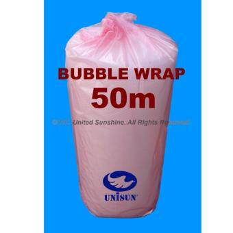 Harga GRADE A BUBBLE WRAP Single Layer 1m x 50m Length Packing Promo