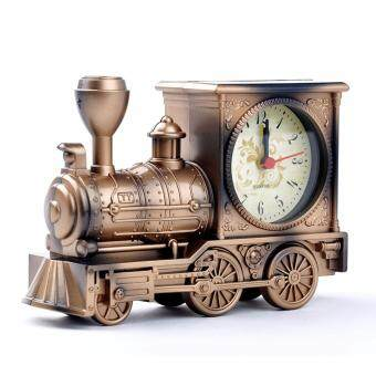 Harga Classic Antique Mini Train Alarm Clock Gift