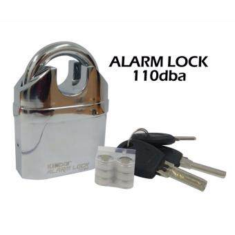 Harga Original Kinbar Extra Safe 110dba Siren Alarm Padlock For Home/Bike