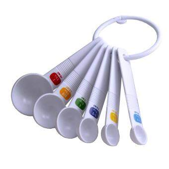 Harga Measuring Spoon Plastic 6 PCS Set with Colored Label