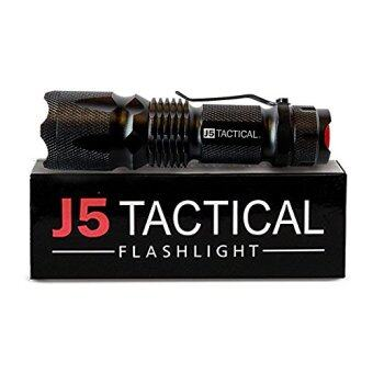 Harga J5 Tactical V1-PRO Flashlight - The Original 300 Lumen Ultra Bright, LED Mini 3 Mode Flashlight