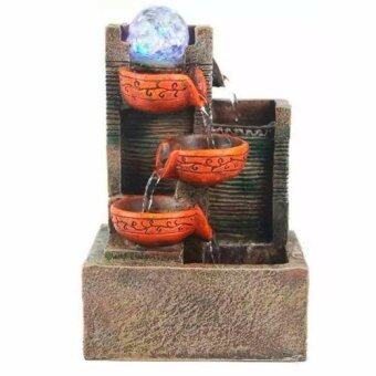 Harga Tabletop Water Fountain Feng Shui Eternity Fortune Gift Decoration