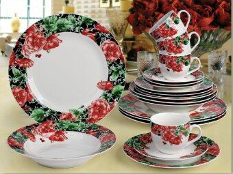 Harga Giacomo Magica 20pcs translucent porcelain dinner set