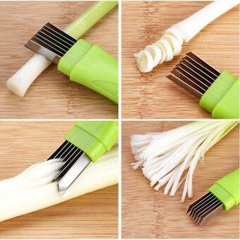 Harga Wond Multifunctional Stainless Steel Cutting Onion Device Garlic Vegetable Cutter