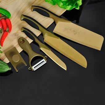 Harga 3PCS Kitchen Knife Steel Sharp Blades Chef Multi Use Knives [Buy 3 get 2]]