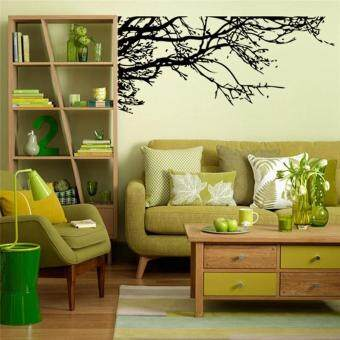 Harga Creative Tree Branches Wall Stickers Living Room Decals TV Background Home Decor Bedroom Mural Art Posters