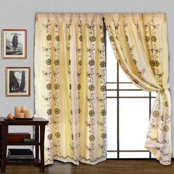 Harga Essina Asten French Pleated Curtain for Sliding Door