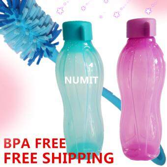 Harga Tupperware Eco Bottle 2X750ml Sea Green (BPA FREE) + Durable Flexible Eco Brush x1 (FREE SHIPPING)