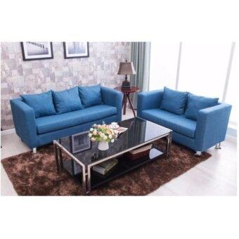 Harga Home and Living: Sitting Room Concept Furniture 3 Seater Soft and Comfortable - Sofa Design