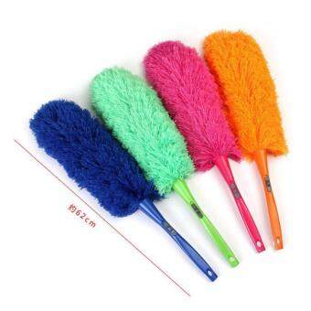 Harga Soft Microfiber Cleaning Feather Duster Dust Living Room Cleaner Handle