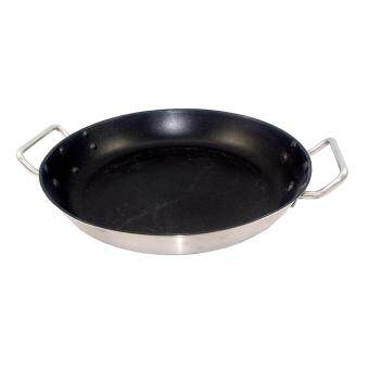 Harga Paella Pan Non-Stick Sandwich Bottom Stainless Steel - 40cm