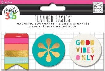 Harga Planner Basics - Bright Heart Magnetic Clips