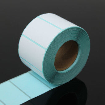 Harga 50x30mm High Quality 800PCS Printing Label Barcodes Number Thermal Adhesive Paper Sticker Packaging Label New