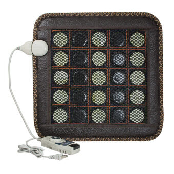 Harga Vinmax Natural Jade Germanium Tourmaline Stones Infrared Heating Cushion Mat