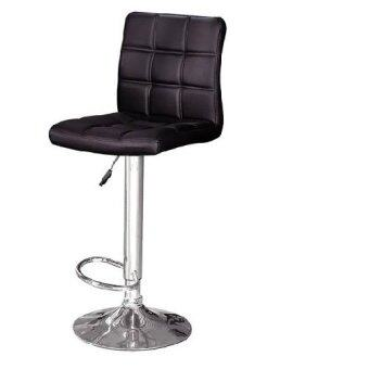 Harga LAVIN BS 8085 PU BAR STOOL BLACK