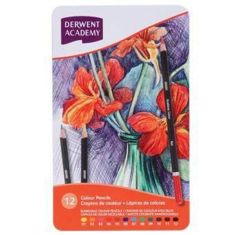 Harga DERWENT Academy Colour Pencils 12's