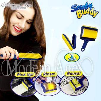 Harga Modern Age Reusable Sticky Buddy Carpet Clothes Lint Fur Remover Cleaner Roller