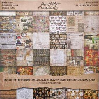 Harga Idea-Ology Paper Stash Paper Pad 8X8 36/Sheets - Collage