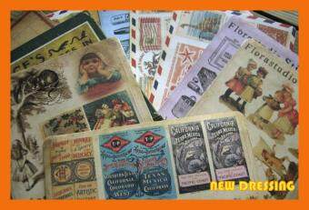 Harga Vintage Series Paper Sticker