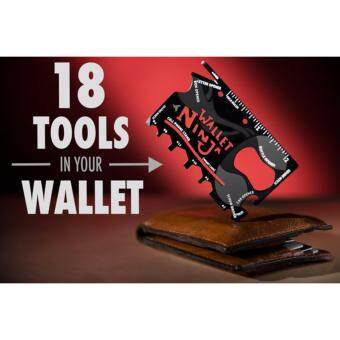 Harga Wallet Ninja World's First 100% Multi Tool