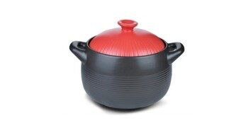 Harga Giacomo 4.2L High Quality Clay Pot- Red