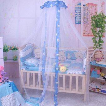 Harga New Canopy Net Summer Autumn Baby Infant Nursery Mosquito Nets Curtain for Bedding Set Bed Canopy Bed Netting Tent