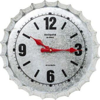 Harga KARE Antique De Paris Silver Wall Clock Ø36cm 39399