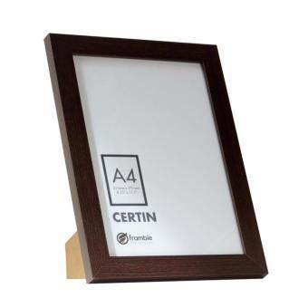 Harga Frambie CERTIN A4 - Brown Color Certificate / Document Frame - A4 Size