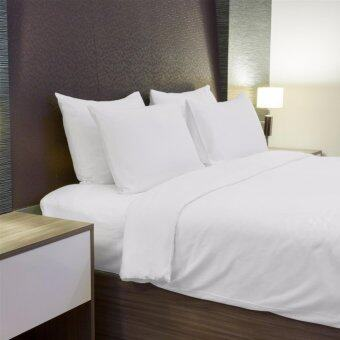 Harga Eskays-Hotel Comfort White Bed Sheets-Queen