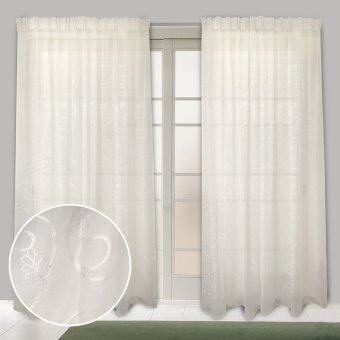 Harga Essina French Pleated Sheer Curtain 1 Layer - SAFFRON CREAM