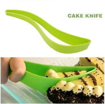 Harga 2Pcs Cake Knife DIY Baking Utensils Silicone Cake Knife Cutting Knives Cutter tools