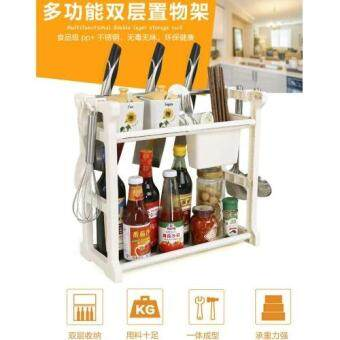 Harga Multifunction Kitchen & Bathroom Storage Rack