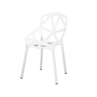Harga LAVIN CAFE CHAIR SERIES DC 9128 WHITE