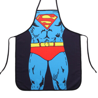 Harga Cooking Kitchen Apron Superman