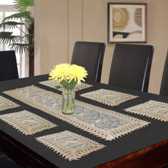 Harga Essina Tulipfera 1pc Table Runner + 6pcs/set placemat