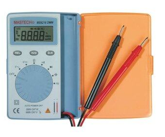 Harga Mastech MS8216 Super Slim Pocket Size Auto Range Digital Multimeter AC/DC Voltage Caps. Freq. and Resistor Checking