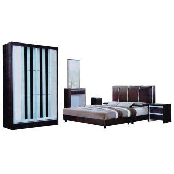 Harga Katy 5pcs Bedroom Set (5ft x 6.25ft Wardrobe)