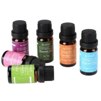 Harga Cyber Acevivi New 6pcs a Set Gift Box Package 10ml Pure Essential Oil
