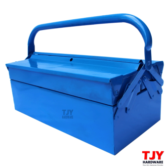 Harga Metal Cantilever 2 Tiers 3 Trays Home Mechanic Steel Tool Box ToolStorage CTB02