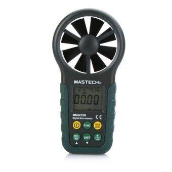 Harga Mastech MS6252B Portable Digital Anemometer Handheld LCD Electronic Wind Speed Air Volume Measuring Meter with Temperature and Humidity Display USB Data Upload Backlight by Mastech