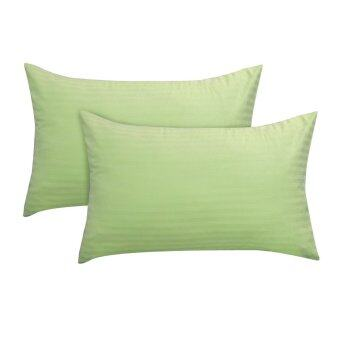 Harga Essina 100% Cotton Colour Palette 680TC Pillow Cases 2pcs_set - GREEN