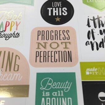 Harga Create 365 Happy Planner Stickers - Life Quotes