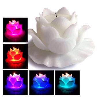 Harga LED Lotus Real Wax Candle 1 Piece