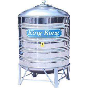 Harga King Kong KR300 1250L/300G Vertical Round Bottom With Stand Stainless Steel Water Tank