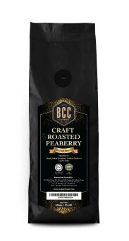 Harga BCC Craft Roasted Peaberry Coffee Bean 500gm + FREE 2 packs of Drip Coffee