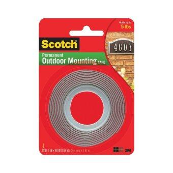 Harga Scotch Outdoor Mounting Tape 4011, 1 in x 60 in x .045 in (25.4 mm x 1.51 m)