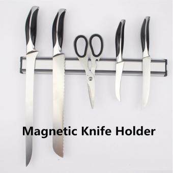 Harga 2PCS LARGE 56cm Magnetic Knife Holder Rack Storage Strip Kitchen Knives Bar